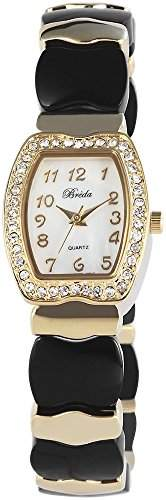 Bredá Damen-Armbanduhr Analog Quarz verschiedene Materialien 100401000009