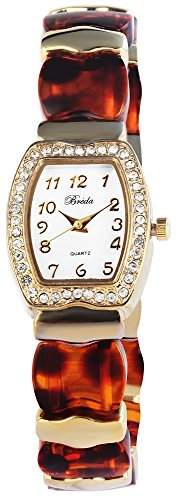 Bredá Damen-Armbanduhr Analog Quarz verschiedene Materialien 100407000009