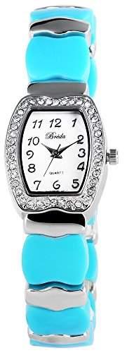 Bredá Damen-Armbanduhr Analog Quarz verschiedene Materialien 100423500009