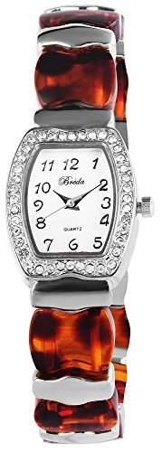 Bredá Damen-Armbanduhr Analog Quarz verschiedene Materialien 100427000009
