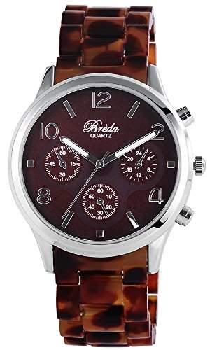 Bredá Damen-Armbanduhr Analog Quarz verschiedene Materialien 100427000010