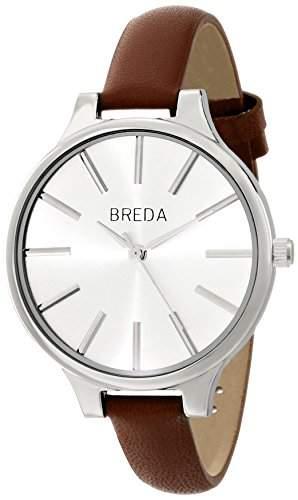 Breda Damen 1650G Analog Display Quartz Brown Armbanduhr