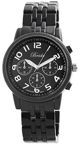 Exclusive Armbanduhr Uhr DamenuhrAnalog Schwarz