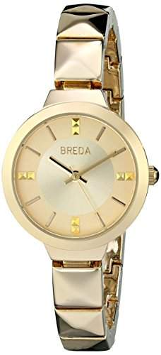 Breda Damen 2398B Analog Display Quartz Gold Armbanduhr