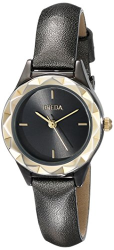Breda Damen 2435 C Analog Display Quartz Black Watch
