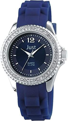 Just Watches Damen-Armbanduhr XS Analog Quarz Kautschuk 48-S3858-DBL