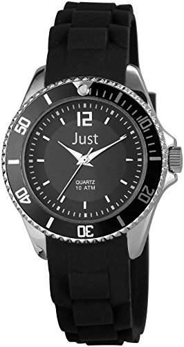 Just Watches Damen-Armbanduhr XS Analog Quarz Kautschuk 48-S3861-BK