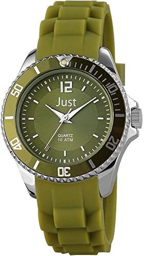 Just Watches Damen-Armbanduhr XS Analog Quarz Kautschuk 48-S3861-DGR