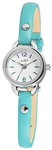 Just Watches Damen-Armbanduhr XS Analog Quarz Leder 48-S4064-HBL
