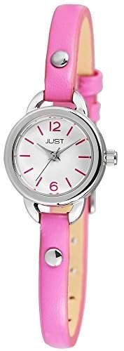 Just Watches Damen-Armbanduhr XS Analog Quarz Leder 48-S4064-PI