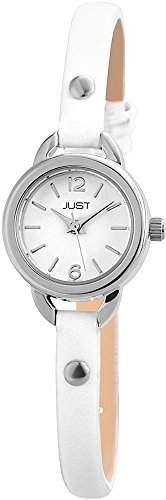 Just Watches Damen-Armbanduhr XS Analog Quarz Leder 48-S4064-WH
