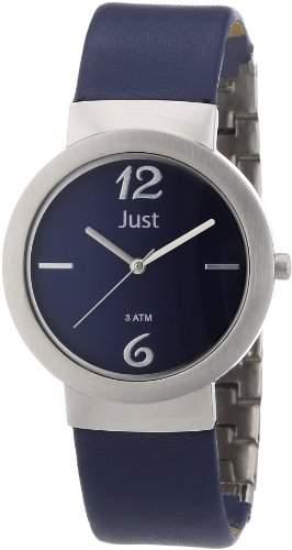 Just Watches Damen-Armbanduhr XS Analog Quarz Leder 48-S4702-BL