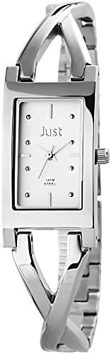 Just Watches Damen-Armbanduhr Analog Quarz Edelstahl 48-S6654-SL