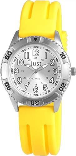 Just Watches Unisex-Armbanduhr Analog Quarz Kautschuk 48-S8021-YL