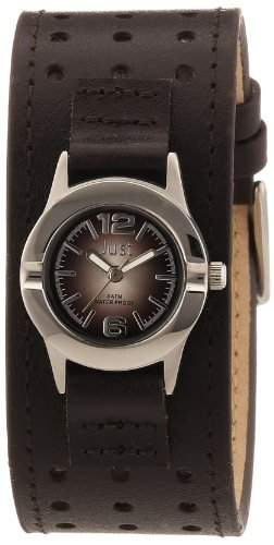 Just Watches Damen-Armbanduhr XS Analog Quarz Leder 48-S9257-BR