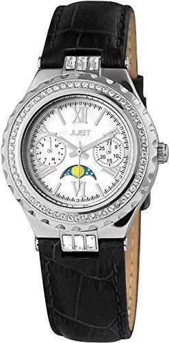 Just Watches Damen-Armbanduhr Analog Quarz Leder 48-S9254-SL