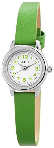Just Watches Damen-Armbanduhr XS Analog Quarz Leder 48-S4063-LGR