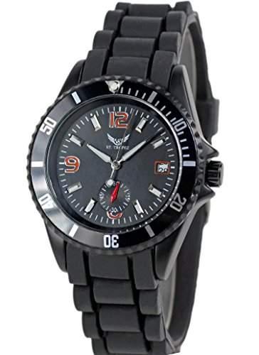 V8 StTropez Automatik Sport Uhr Schwarz