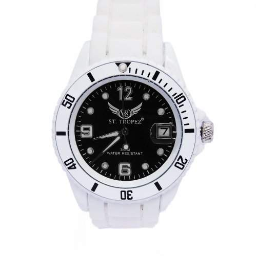 V8 StTropez®! Automatik Armbanduhr Schwarz E7-1