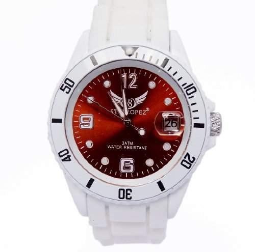 V8 StTropez®! Automatik Armbanduhr Braun E7-4