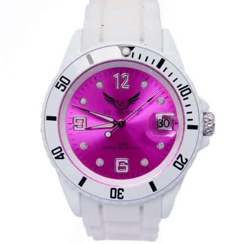 V8 StTropez®! Automatik Armbanduhr Pink E7-6