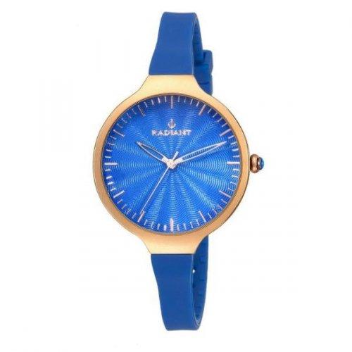 RADIANT Uhr Blau Silikon Sunny RA336604 Frau