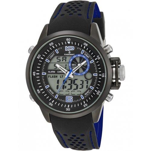 RADIANT Uhr NICKEL FREI RA400603 Mann Schwarz Silikon Chronograph