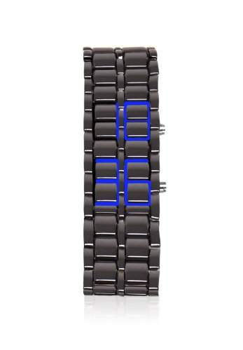 ThumbsUp! Herren-Armbanduhr Armour Watch Digital Automatik Edelstahl grau ARMWAT