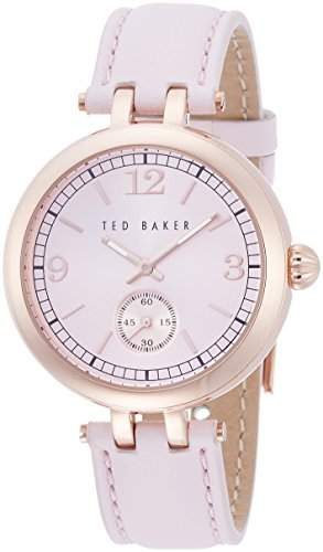 TED BAKER LADIES ROSE GOLD STRAP WATCH