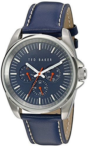 TED BAKER GENTS BLUE STRAP WATCH