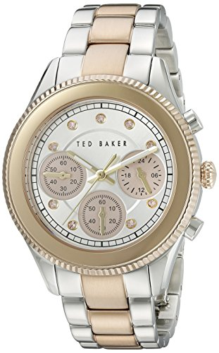 TED BAKER LADIES CHRONOGRAPH TWO TONE WATCH