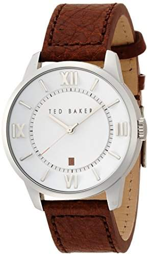 Ted Baker Drei-Hand-BRAUN Mens watch #TE1118