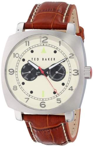 Ted Baker Watches Mens Hamilton Silver Multi Eye Watch