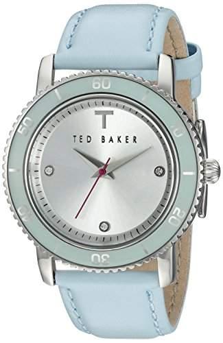Ted Baker Drei-Hand-HELLBLAU Womens watch #TE2111
