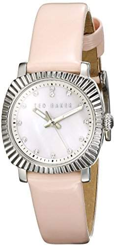 Ted Baker Ladies Pink Strap Watch