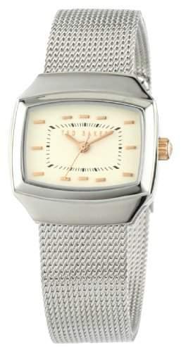 Ted Baker Damen-Armbanduhr Analog Edelstahl silber TE4045