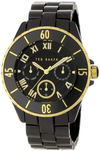Ted Baker TE4057 Womens Black Ceramic Multi Dial Bracelet Watch