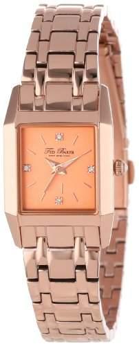 Ted Baker Damen-Armbanduhr Analog Plastik Gold TE4079