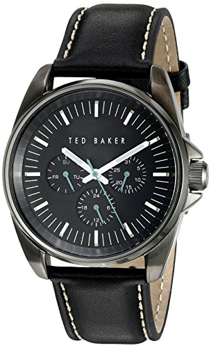 Ted Baker 42 mm BLK IP BLK Zifferblatt te10025262