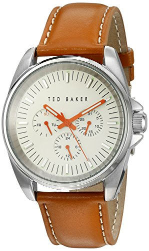 TED BAKER GENTS TAN STRAP WATCH