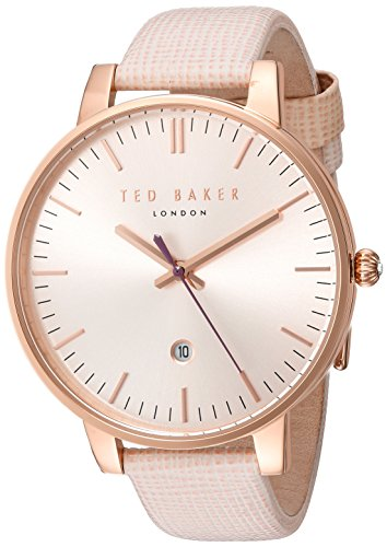 Ted baker Ladies Rosa Gold Pink Strap Watch