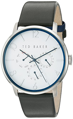 Ted Baker Unisex 42 mm Case weiss Face te10029567