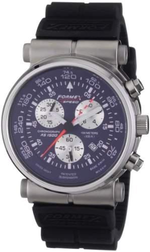 Formex 4 Speed Herren-Armbanduhr XL AS1500 Chronograph Silikon 150043031