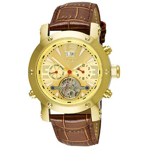 Aatos Herren Automatik Armband Uhr Vergoldet PrinosLGG