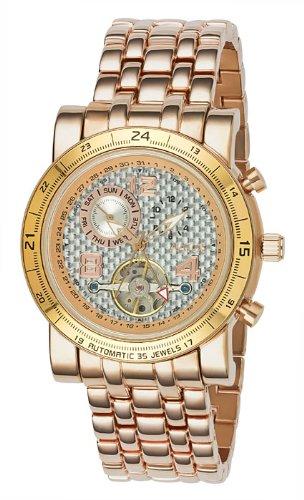 Aatos Rose Herren Automatik Armband Uhr NopeusRgRgW
