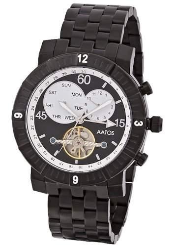 Aatos Herren Automatik Armband Uhr AgilusBBB