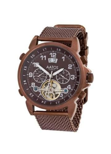 Aatos Herren Automatik Armband Uhr TiosBrBrBr