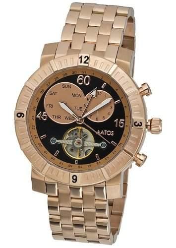 Aatos Herren Automatik Armband Uhr AgilusRgRgB