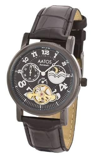 Aatos Schwarze Damen Automatik Armband Uhr AdelaLBB