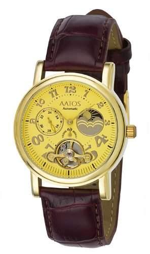 Aatos Vergoldet Damen Automatik Armband Uhr AdelaLGG